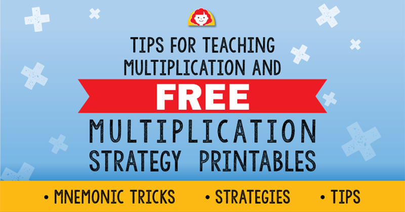 Tips for Teaching Multiplication and a Free Multiplication Strategy ...